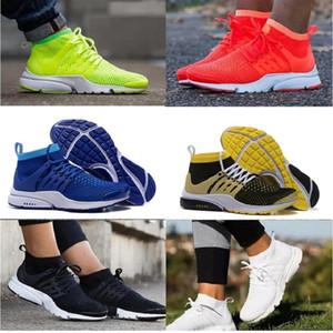 2018 Presto Ince Örgü Nefes Presto Blackout Ucuz Sneaker Kırmızı Lacivert Üçlü Beyaz Siyah Güz Ayakkabı