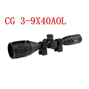 Jagd-Zielfernrohr-Scharfschütze 3-9X40 AOL 1 Zoll Tactical Optical Sight in voller Größe beleuchtet Mil-Dot-Locking-Reset-Zielfernrohr