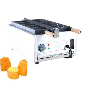 Qihang_top Commercial Non-stick Bell Shaped Waffle Maker Iron Machine Electric Bell shaped Mini Taiyaki maker Machine