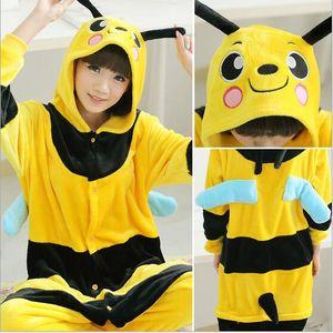 Nuovo autunno giallo tigre Kigurumi Pigiama animale costume cosplay pigiama Animal Sleepwear ape demone bianco tigre cranio batman
