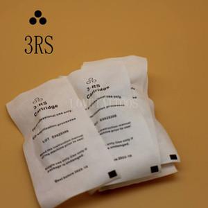 50 pçs / lote 3RS Sobrancelha Agulha de Tatuagem Descartáveis Steriliized Cartucho de agulhas para Nouveau contorno máquina de maquiagem permanente digital