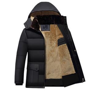 Nouveau modèle augmentation masculine automne cheveux garder au chaud en vrac manteau de coton veste rembourrée porter veste d'hiver hommes