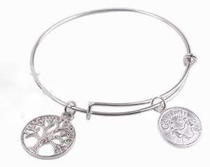 Vintage Argent Gémeaux Leo Capricorne Constellation Zodiac Bracelets Bracelet En Fil Extensible Bracelet De Mariage Punk Charmes Bracelets Pour Femmes Bijoux