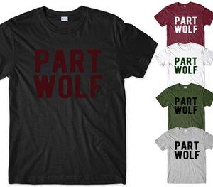 Bölüm Kurt Mens T-shirt Komik Sloganı Tumblr Hipster Komik Üstleri Tee Yeni Unisex Komik Yüksek Kaliteli Rahat Baskı Ücretsiz Kargo