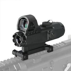 PPT Tactical 4x24mm Zielfernrohr mit Mark 4 High Accuracy Multi-Range-Zielfernrohr HAMR für Outdoor-Jagd CL1-0403