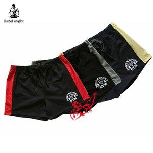 Homens Curto Calções de Treino de Musculação Verão Algodão Homens Academias de Fitness Curto Sportwear Marca de Roupas de Treino Shorts Masculinos