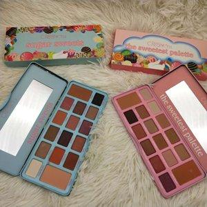 New Hot Cosmetics Die süßesten Palattezuckersüßigkeiten 16 Farben Olivia 16Colors Lidschatten-Palette Matte Lidschatten-Paletten