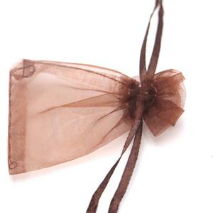 200pcs Kleine 5 * 7cm Muster Organza Schmuck Taschen Weihnachten Hochzeit Voile Geschenk-Beutel Beutel Schmuck Verpackung Geschenk-Beutel