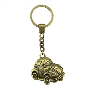 6 Pieces Key Chain Women Key Rings Car Keychain For Keys Car 31x31mm