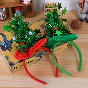 Рождественские украшения оголовье партии головной убор Красный Hat нетканые оголовье праздник День Рождения поставки партии подарочная упаковка Wx9-1075