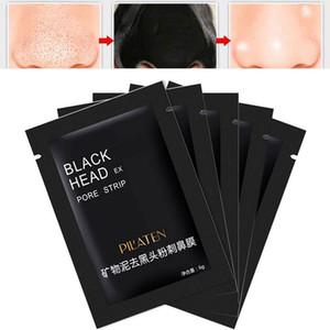 20 pcs / lot Pilaten Visage Masque Noir Soins Du Visage Nez Acné Points noirs Remover Minéraux Pores Nettoyant Masque Noir Tête Maquiagem