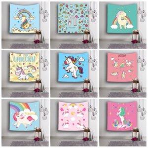 Portable Licorne Motif Tapisserie Doux Confortable Polyester Fibre Tapis De Yoga 3D Numérique Imprimé Serviette De Plage Pour Les Femmes 18ls B