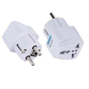 Adaptador de viaje Adaptador eléctrico universal para Reino Unido EE. UU. UE AU a UE Convertidor de enchufe europeo Viaje a casa Adaptador de enchufe