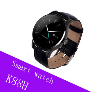 Newest K88H Smart Watch Bluetooth 4.0 With Heart Rate Monitor For IOS And Andoid,Unisex Wearable Bluetooth Smart Watch with Waterproof IP54