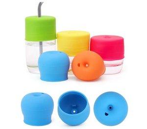 Silikon Sippy Deckel Nippel Deckel für jede Größe Kinder Becher Kleinkinder Auslaufbecher für Säuglinge und Kleinkinder BPA Kostenloser Versand