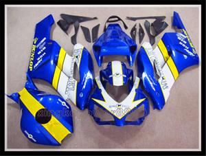 블루 + 화이트 ABS 사출 금형 차체 Fairing for 혼다 CBR1000RR 2004 -2005 년