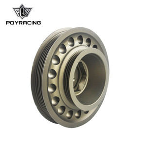 PQY - Light Weight Aluminum Crankshaft Belt Pulley OEM Size For 93-01 Honda Prelude H22 VTEC PQY-CP012