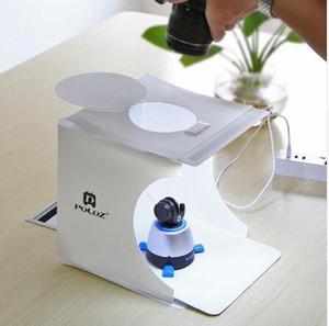 Morbido scatola Photography Studio Mini Folding ID LED foto contenitore molle per iPhone DSLR Camera Foto sfondo del contenitore di cubo
