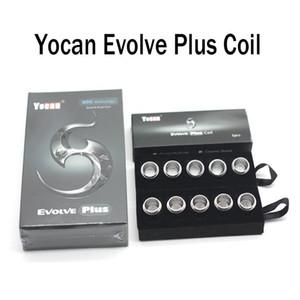 100% Authentic Yocan Evolve Plus Coils Quartz Dual Coil QDC Replacement Core Pure Taste QDC Coils Free Shipping