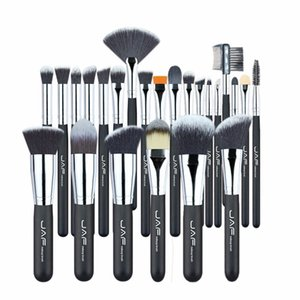 JAF  Professional  Brushes Set Kit Lip  Foundation Blusher Eye shadow Eyelashes Concealer Brush Tool 24pcs/set