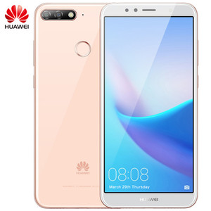 Huawei original Disfruta 8e teléfono celular 4G LTE 3 GB de RAM 32 GB ROM Snapdragon 430 Octa Core Android 5.7 pulgadas Teléfono 13 MP Cara Identificación de huellas dactilares móvil