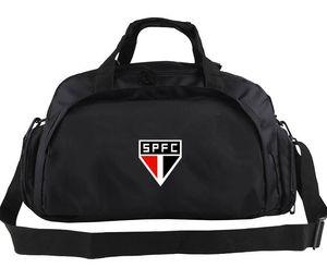 São Paulo Futebol Clube Seesack Club Tote Fußball Team Rucksack Fußball Logo Gepäck Sport Schulter Duffle Emblem Sling Pack