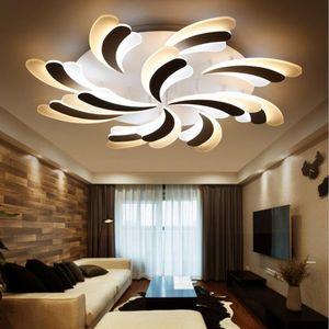 acrylique moderne LED plafonniers pour salon Ultrathin plafonnier abat-jour décoratif Lamparas de techo