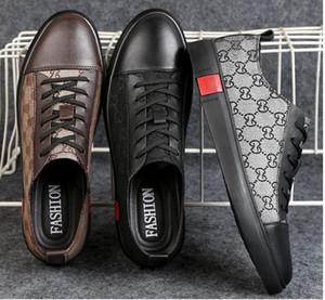 2019 Hot Sell Fashion Style High Top Scarpe Uomo Spikes Scarpe Rivetti Designer Prestigio Walking scarpe partito Scarpa da sposa dh2a11