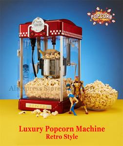Popcorn Machine 2.5 oz Style Rétro Popcorn Popper Petit Popcorn Maker Machine Chauffage Électrique Corn Popper