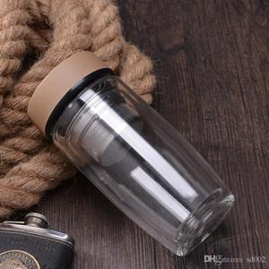 Prático Coador De Vidro Copo Resistente Ao Calor Com Chá Infusor Garrafas De Água Para Casa Rodada Vazamento À Prova de Caneca Fácil de Transportar 24 8 wy cc