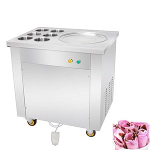 BEIJAMEI Commercial Thailand Cold Plate Instant Frying Ice Cream Fare 110v 220v Fry Fried Roll Gelato macchina
