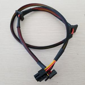 PSU modular 6Pin a 3 puertos SATA Cable 18AWG Cable 80cm para NP TP ECO Series