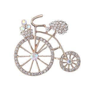 OneckOha Strass Broches De Bicicleta De Liga De Zinco Bicicleta Pin Presente de Aniversário