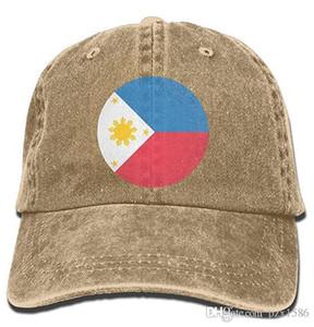 Pzx @ Gorra de béisbol para hombres, mujeres, bandera de Filipinas, algodón, gorra de mezclilla ajustable, sombrero multicolor, opcional