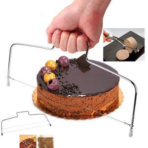 Paslanmaz çelik sıcak Mutfak Araçları Tel Dilimleme Kek Kesici Ekmek Kesme Dilimleme Dekorasyon Bölücü Dilimleme Aracı Pişirme Aracı