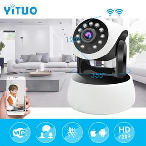YITUO neues Modell Doppelantennen IP-Kamera Wi-Fi HD 720P 1.0MP Überwachungskamera Mini-CCTV Wireless Home Security WiFi-Kamera