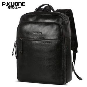 New designer fashion genuine leather travel bag,  business backpack, cowhide leather bag
