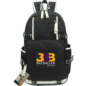 BBB Rucksack Basketball Logo Design Tagesrucksack Lonzo Ball Schultasche Freizeitrucksack Qualitätsrucksack Sport Schultasche Outdoor Tagesrucksack