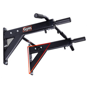 600kg Wand befestigten Pull Up Klimmzugstange mit Widerstand Band Cross Fit Training Fitness Heavy Duty