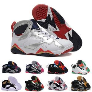 [Con la caja] VII 7 Zapatos 7 VII BLANCO TURQUESA NEGRO HIELO AZUL Baloncesto Zapatillas deportivas deportivas Botas atléticas Zapatillas de deporte Hombres