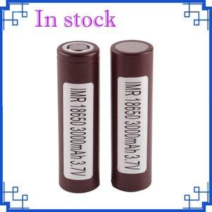 2018 LG HG2 Batería 18650 Batería de litio recargable para la caja de Ecigarette Mod 3000mah 35A Batería de iones de litio HE4 HE2 25R VTC5 máxima por fedex