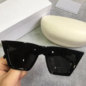 Designer lunettes de soleil pour hommes 41468 hommes lunettes de soleil pour femmes femmes lunettes de soleil hommes marque designer revêtement UV protection mode lunettes de soleil