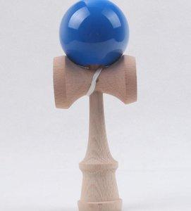 Vente chaude 120 pcs Grande taille 19 * 6 cm Kendama Ball Japonaise Traditionnelle Bois Jeu Jouet Éducation Cadeau 7 couleurs En Gros Livraison gratuite