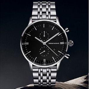 relógios dos homens moda clássica ar0389 relógios de quartzo são frete grátis alta qualidade