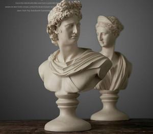 Yaratıcı reçine soyut David Karakter avatar figürleri vintage Venüs heykeli ev dekor ofis el sanatları odası dekorasyon nesneleri
