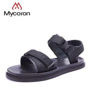 MYCORON 2018 Men Sandal Shoes Summmer Comfortable Mens New Outdoor Beach Shoes  Fashion Male Breathable Sandals Men