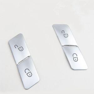 Déverrouillez de boutons de verrouillage de porte de voiture Décoration de 4pcs pour Mercedes Benz GLK GLA CLA GLE CLS ML GL A B C Classe E