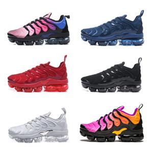 2018 T N Plus أطفال مصمم أحذية VM Olive باللون الأبيض الفضي Colorways بنين بنات أحذية للركض حذاء حزمة الثلاثي الأسود