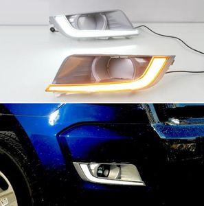 2PCS LED Daytime Running Light per Ford Ranger 2015 2016 2017 2018 ingialliscono segnale relè impermeabile 12V LED DRL