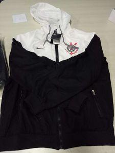 Corinthians Club New Arrivals Abbigliamento da uomo Designer Jacket Primavera Sportswear per giacca a vento marca maschile con cappuccio Zipper Up Jacket